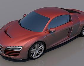 3D asset Audi RS 8