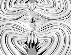 3D printable model Angel Seraphim Pendant