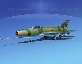 3D model MIG-21 Fishbed V10