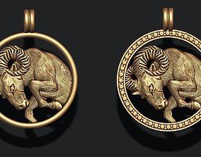 3D print model zodiac Aries
