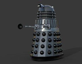 Dalek rig 3D asset