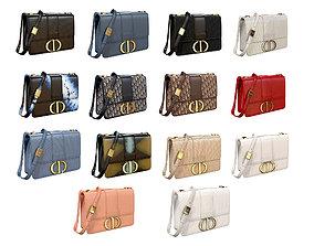 Dior 30 Montaigne Bag 3D