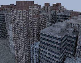 3D asset City Buildings
