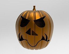 Halloween Pumpkin 3D printable model figurines