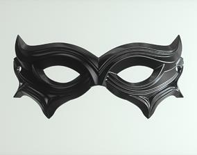 masquerade 3D printable model Carnival Mask 02