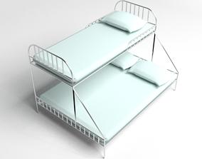 3D Double Decker Bed