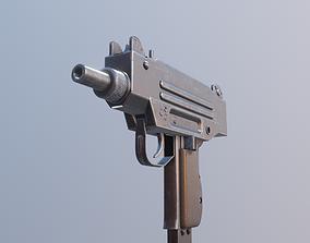 3D asset micro uzi gun