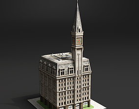 3D model 19th Century American Building
