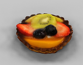 3D asset game-ready Fruit Pie