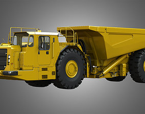3D model UNDERGROUND - HARD ROCK AD45B - ARTICULATED TRUCK