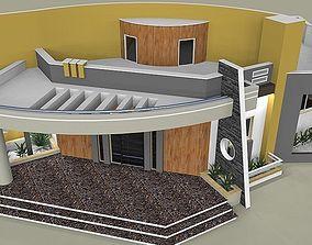 3d 3D print model modern house