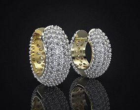 3D print model EARRINGS ALLURE SMALL DOUBLE jewels