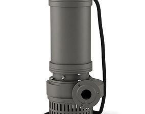 Pump centrifugal water 3D model