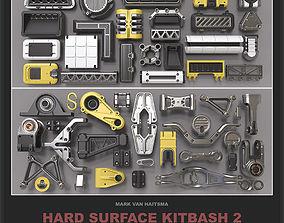 Hard Surface Kitbash Library - 2 3D