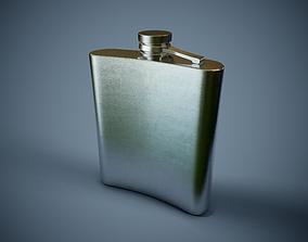 Pocket Bottle PBR Game Ready 3D model