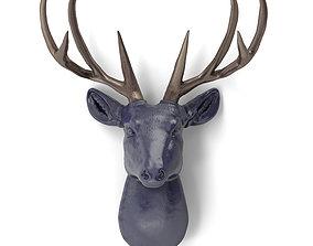Decorative deer head 3D model