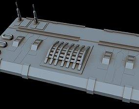 Starship part 30 3D model dp-20