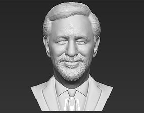 Steven Spielberg bust 3D printing ready stl obj formats