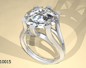 3D print model sapphire fashion Ring