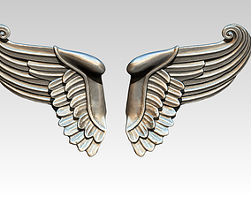 3D print model Wing bird angel pair