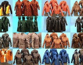 18 Jacket and Coat Collection 3D model