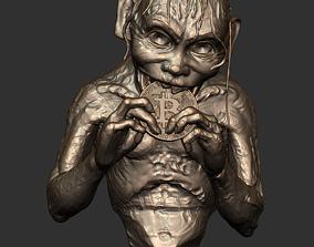 Gollum and his new precious 3D printable model