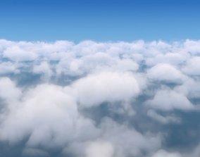 3D model exterior clouds