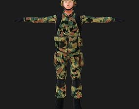 3D model Polish Army