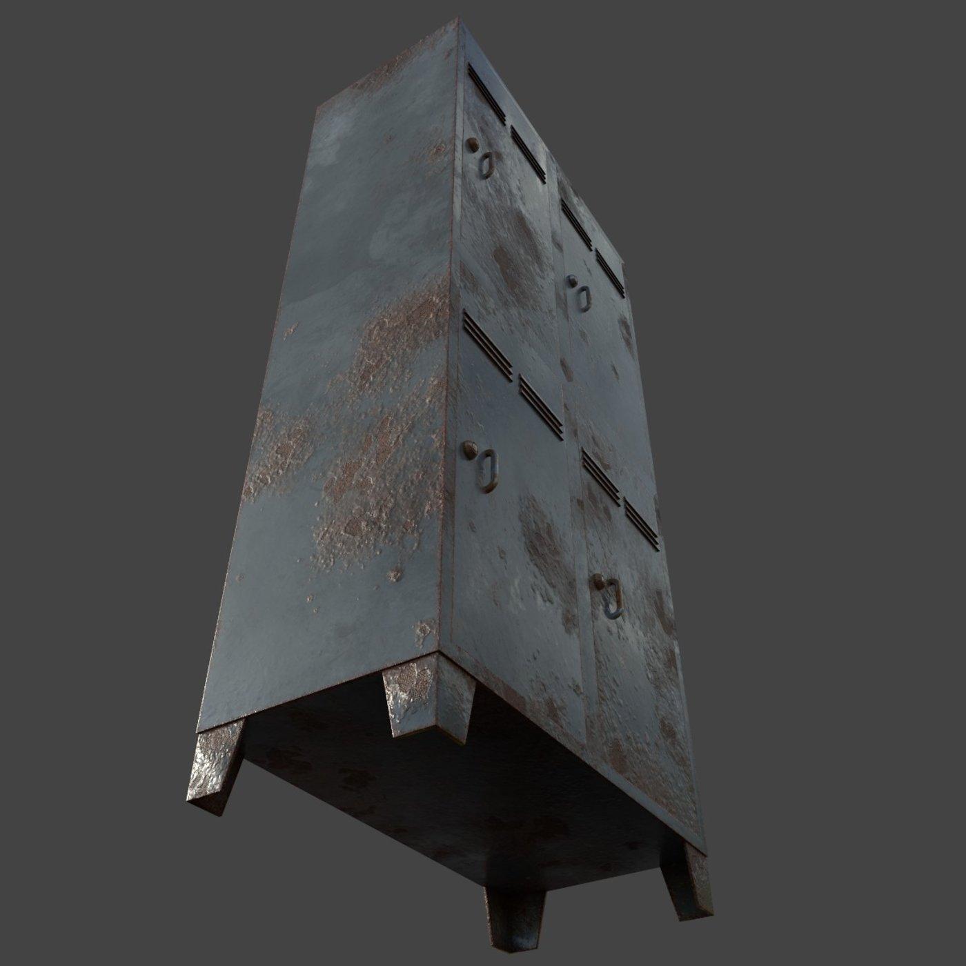 Rusty Cabinet