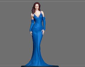 WONDERWOMAN DRESS STATUE DC MOVIE 3D printable model 4