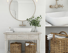 3D Furniture and decor for bathrooms 10