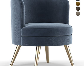 Beadle Accent Chair 3D