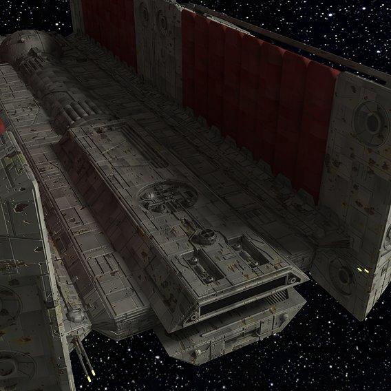 Star Wars BFF-1 Freighter #2