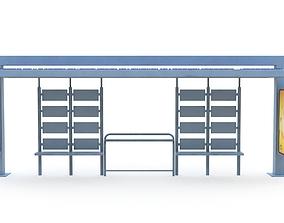 Bus Stop 03 3D model
