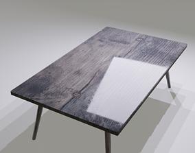 3D asset Epoxy Table Evee