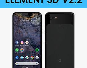 E3D - Google Pixel 3 XL Black