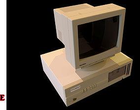 Vintage PC 2 in 1 Bundle 3D