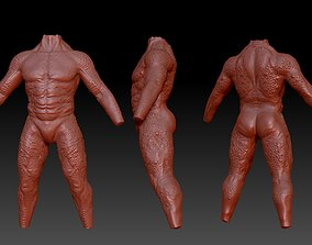 predator torso 3D print model