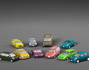 Vehicle Packs cars Nissan 3D asset realtime