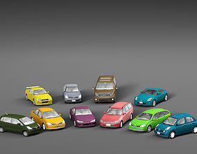 Vehicle Packs cars Nissan 3D asset