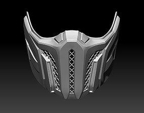3D printable model Sub Zero mask for cosplay Mortal 3