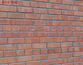 Ultra realistic Brick wall Scan 3D model