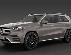 3D model car Mercedes-Benz GLS 2020