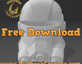 Echo Helmet - Star Wars Bad Batch 3D model