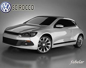 3D Volkswagen Scirocco