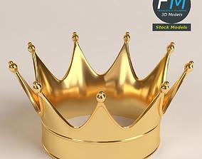 Gold crown 1 3D