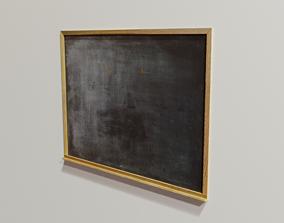 3D asset Chalkboard other