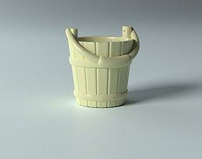 Cartoon props - Bucket 3D printable model