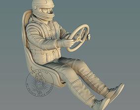 RC Racing Boat Pilot 3D printable model