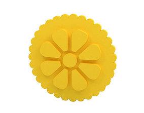 food 3D print model Cookie stamp - Stamp